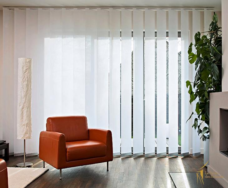 store lamelle verticale le palais des rideaux rideau. Black Bedroom Furniture Sets. Home Design Ideas