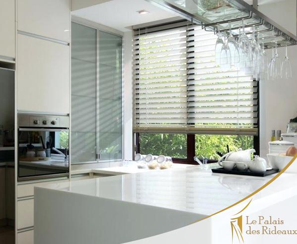 Les rideaux pour habiller les fenêtres de Cuisine | Le ...